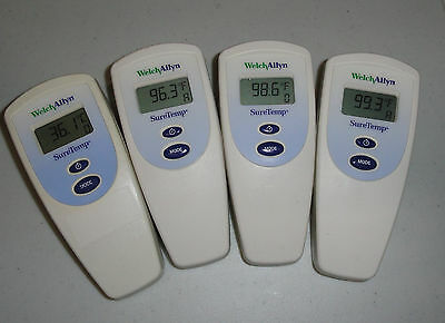 4 Qty. Welch Allyn SureTemp 678 Electronic Thermometers