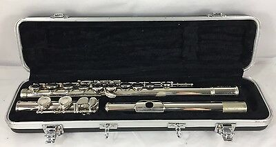 Cecilia Silver Student Model Flute With Original Case Instrument Woodwind