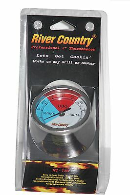"""3"""" Rct3W Bbq Charcoal Gas Electric Grill Smoker Pit Thermometer Adjustable"""