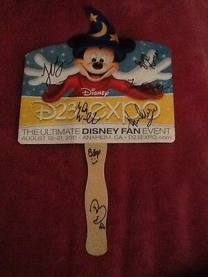 Good Luck Charlie Disney D23 Expo Cast Signed Sign Coa