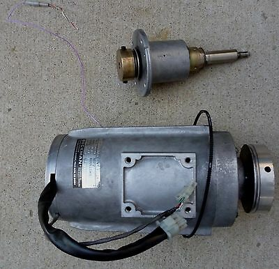 Beckman J2-21 Centrifuge Motor 115814 341742 With Parts As Pictures