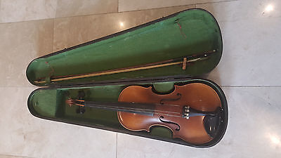 Antique Rear Jacobus Stainer Antique Violin Made in  Czecho - Slovakla  1765