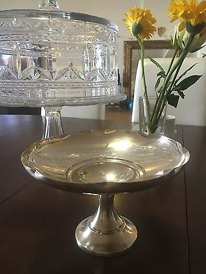 Rare! 1930's Imperial Silver Plated Comport Or Fruit Stand!