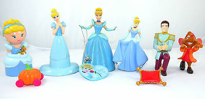 Lot Of Disney Princess Cinderella Doll Toy + Friends