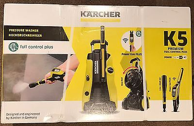 karcher k5 premium full control plus 145bar pressure washer 2 1kw 240v picclick uk. Black Bedroom Furniture Sets. Home Design Ideas