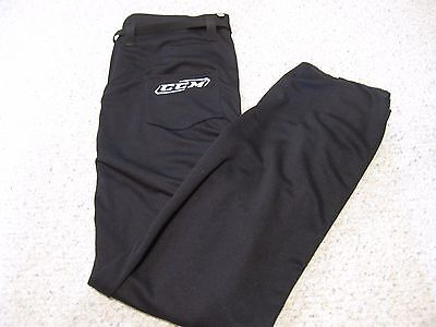 New CCM PP9L SR Referee Pants Black Large Official Hockey NWT  MSRP $89.99