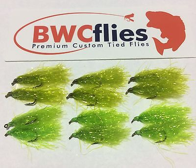 BWC Flies 12 x  SIZE 10 Weed fly for Blackfish and Luderick