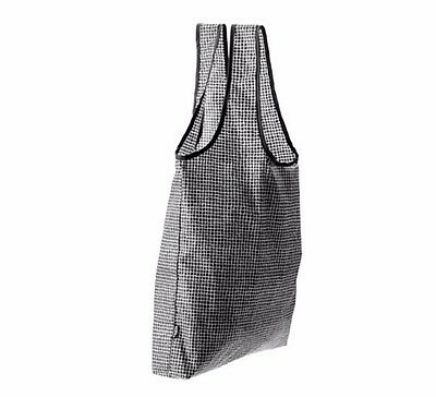 Ikea Foldable  Reusable Shopping Bags.  Set of 3 Black Knalla. New with Tags