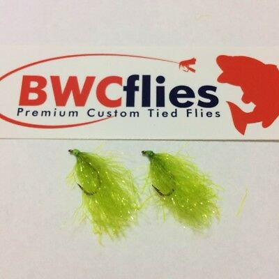 BWCflies 2 x SIZE 10 Bright Weed fly for Blackfish and Luderick