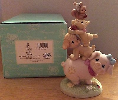 Precious Moments Figurine Life Would Be The Pits Without You Country Lane 795356