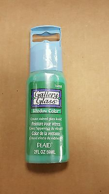 Gallery Glass window color paint #16008 Kelly Green