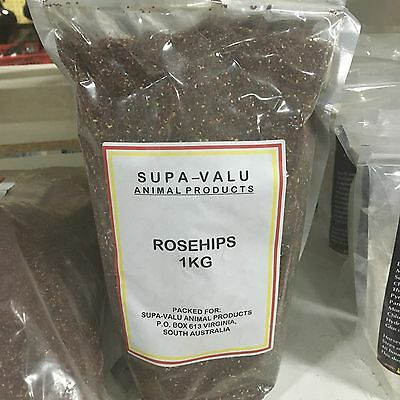 ROSEHIP Granules 1kg for Dogs and Horses   ****NEW