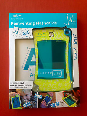 Boogie Board Jot 4.5 Reinventing Flashcards LCD eWriter NEW/In Hand/Free Ship