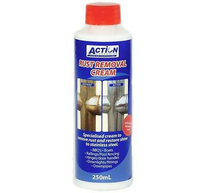 Rust Removal Cream 250ml Action Corrosion Stainless Steel Copper Converter