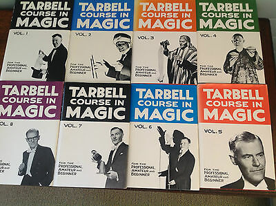 Tarbell Course in Magic: Volume 1 to 8