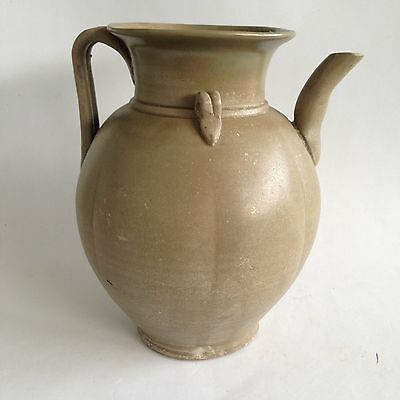 Large Chinese Tang Five Dynasty 五代 Yue Ware 10th Century Ewer