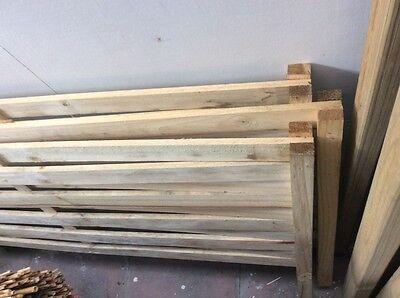 3 pine fence extension toppers,$50 the lot