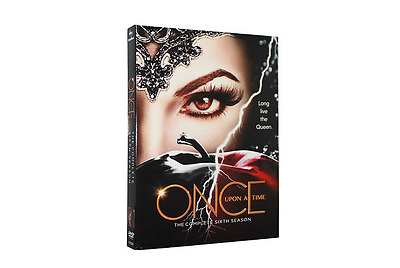 Once Upon a Time Season 6(DVD, 2017,5-Disc Set) Free shipping