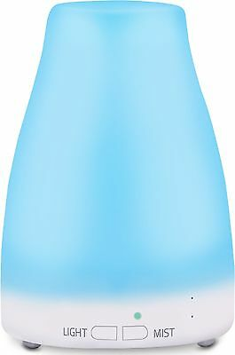 Ultrasonic Essential Oil Diffuser (120ml) - Cool Mist Air Humidifier  W... - New
