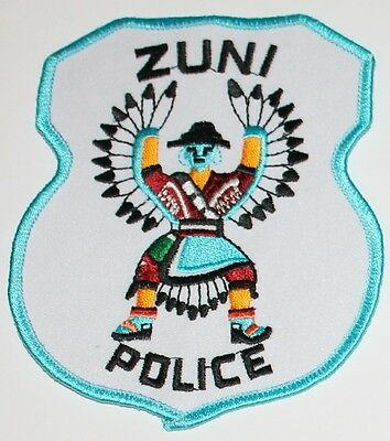 ZUNI POLICE New Mexico Tribal PD Native American Indian Dancer patch
