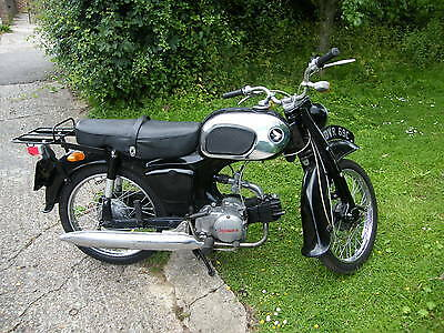RARE 1965 HONDA C200 90cc LOW MILES VERY NICE . EARLY HONDA 90 £2000 SPENT