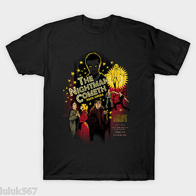 The Nightman Cometh Men's Black TShirt Clothing Tees S-2XL