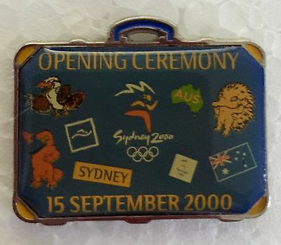 Sydney 2000 Olympic pins - Opening Ceremony Pin 15 September 2000