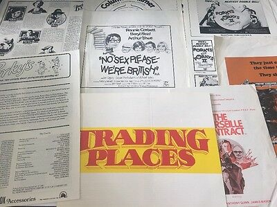 Old Film Publicly Advertising Paperwork Ronnie Corbett  And More Lot 1