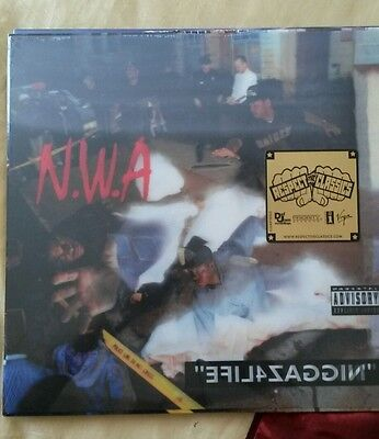 NWA - ELIF4ZAGGIN 3D HOLOGRAM COVER  SEALED see pics for split on top of sleeve