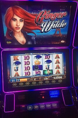 Bally Alpha 2 Pro v22/22 GINGER WILD SLOT MACHINE GAME SOFTWARE.