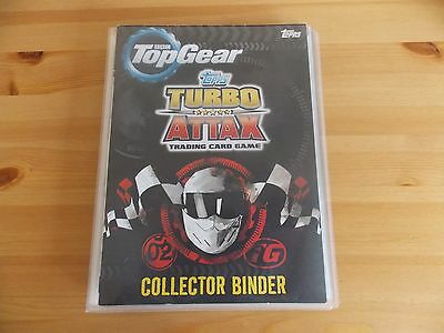 Top Gear Turbo Attax Full Set In Binder + 5 Limited Ed Cards