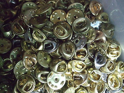 Lot De 200 Attaches Pour Pins Pin's  En Metal