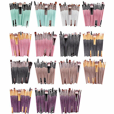 15 pcs/set Eye Shadow Cosmetic Makeup Brushes Set Lip Eyebrow Brush Cosmetic