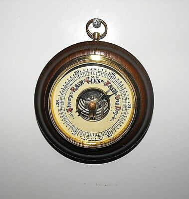 Vintage Wall Hanging Barometer Made In West Germany Working