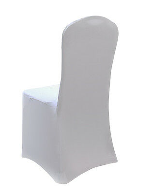 50 White Large Chair Covers *GREAT FOR WEDDINGS & EVENTS*