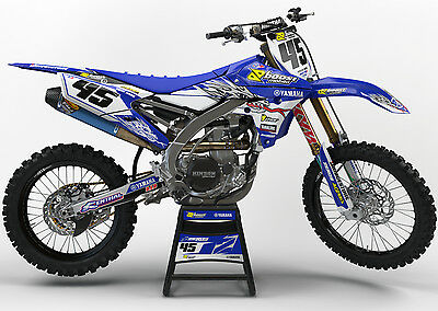 Yamaha Yz 125 250 2006 - 2014 Motocross Graphics Mx Graphics Kit Yamaha Of Troy