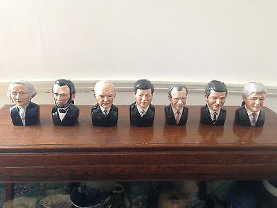Bairstow Manor set of 7 character jugs from American President Series