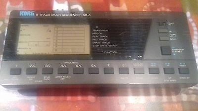 Vintage 1987 Korg SQ-8 8 Track Multi Sequencer Midi