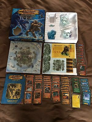 Dungeons & Dragons fantasy adventure board game 2004 Eternal Winter 100% comp
