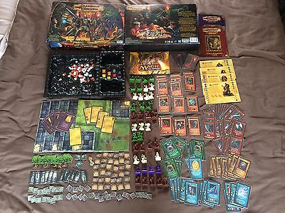 Dungeons & Dragons fantasy adventure board game 2003 100% complete