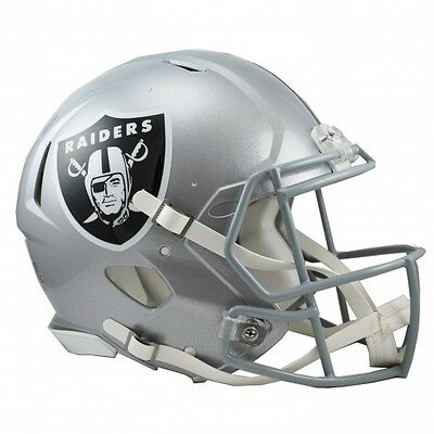 NFL Oakland Raiders Official Replica Helmet - Full Size - For Display