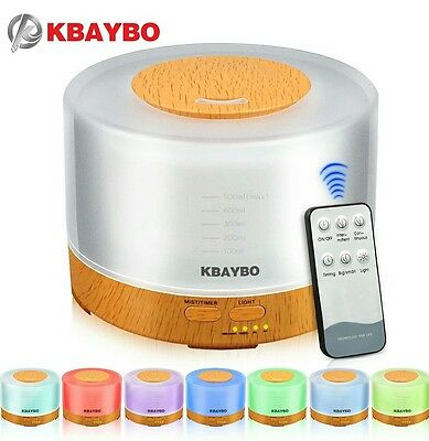 Diffuseur D'arome Humidificateur D'air Kbaybo Led Parfum
