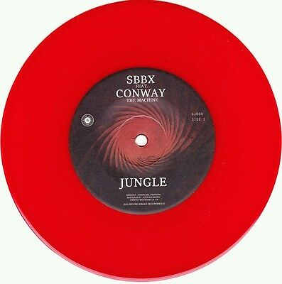 "SBBX x CONWAY THE MACHINE - JUNGLE 7"" red vinyl 45 record Westside Gunn Daupe"