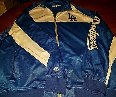 Majestic  La Dodgers Jacket  Sz 4 Xl