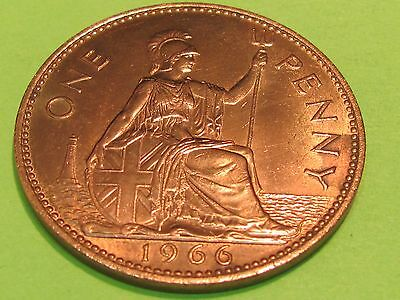 British large copper 1966  coin......combine shipping and save $$$$$$
