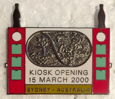 Sydney 2000 Olympic pins - Coca Cola Kiosk Opening Pin - 15 March 2000