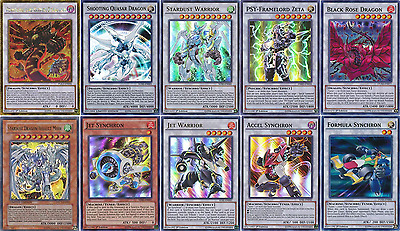 52 Cards Shooting Quasar Dragon Deck| COMPETITIVE FTK* Stardust Deck Yugioh!