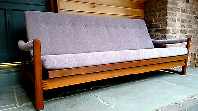 Rare Mid-century Virginia Sofa-Bed By Guy Rogers - 1960s, vintage, Danish style