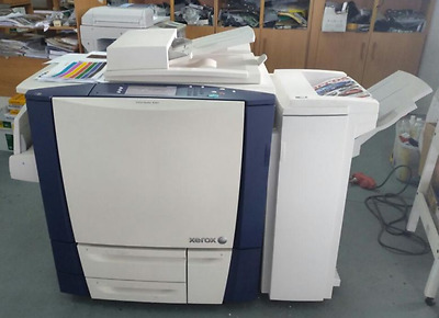 Used Xerox ColorQube 9201 with Finisher Staple ,Hole Punch & FAX