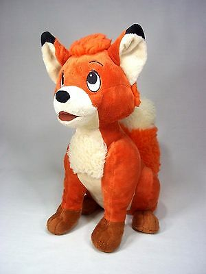 "14"" Disney Tod Plush Stuffed Animal Toy The Fox and The Hound Disney Store Todd"